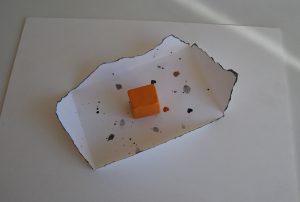 carta cargada con bloque