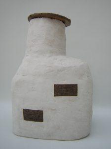 ceramic sculpture sea house