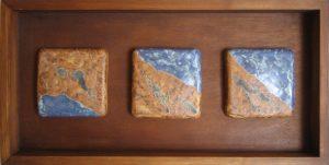 mural ceramico con tres elementos