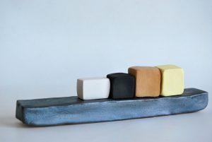 obra ceramica amb esmalts i oxids