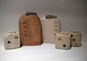 ceramic sculpture made with stoneware