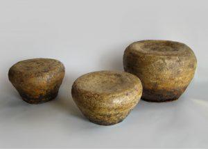 tres elementos como una formacion de islotes