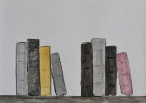 pintado sobre papel