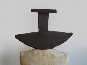 escultura que representa el rey en el ajedrez