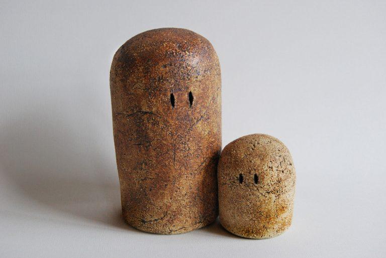 escultura en arcilla cocida