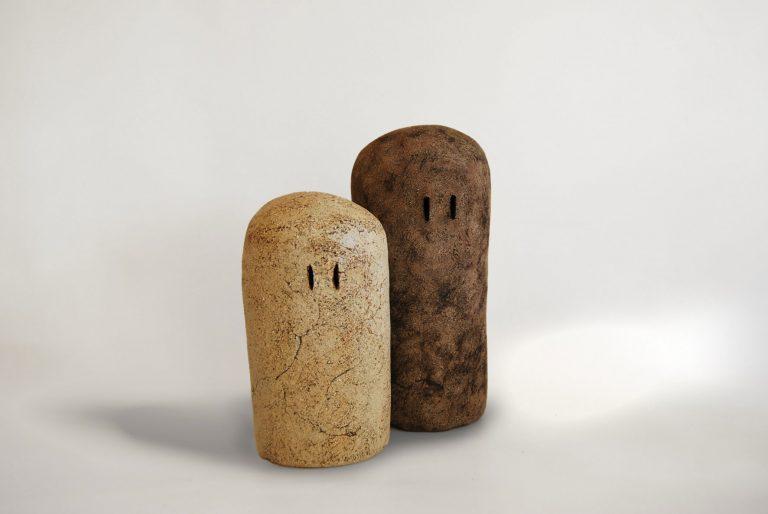 obra realizada con materiales ceramicos